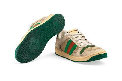 6 Sepatu Rusak,Kotor Dan Belel Berharga Fantastis