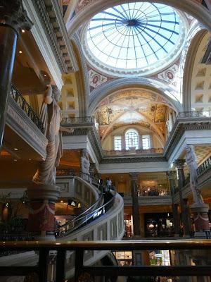 visite du Caesars Palace à Las Vegas