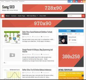 Sang SEO - SEO Fast Responsive Blogger Template