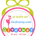 12 Days Of kisahamydotcom Giveaway