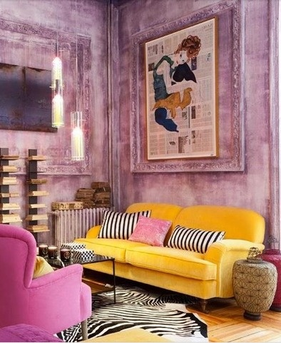 Interiores decorados con toques color amarillo chicanddeco