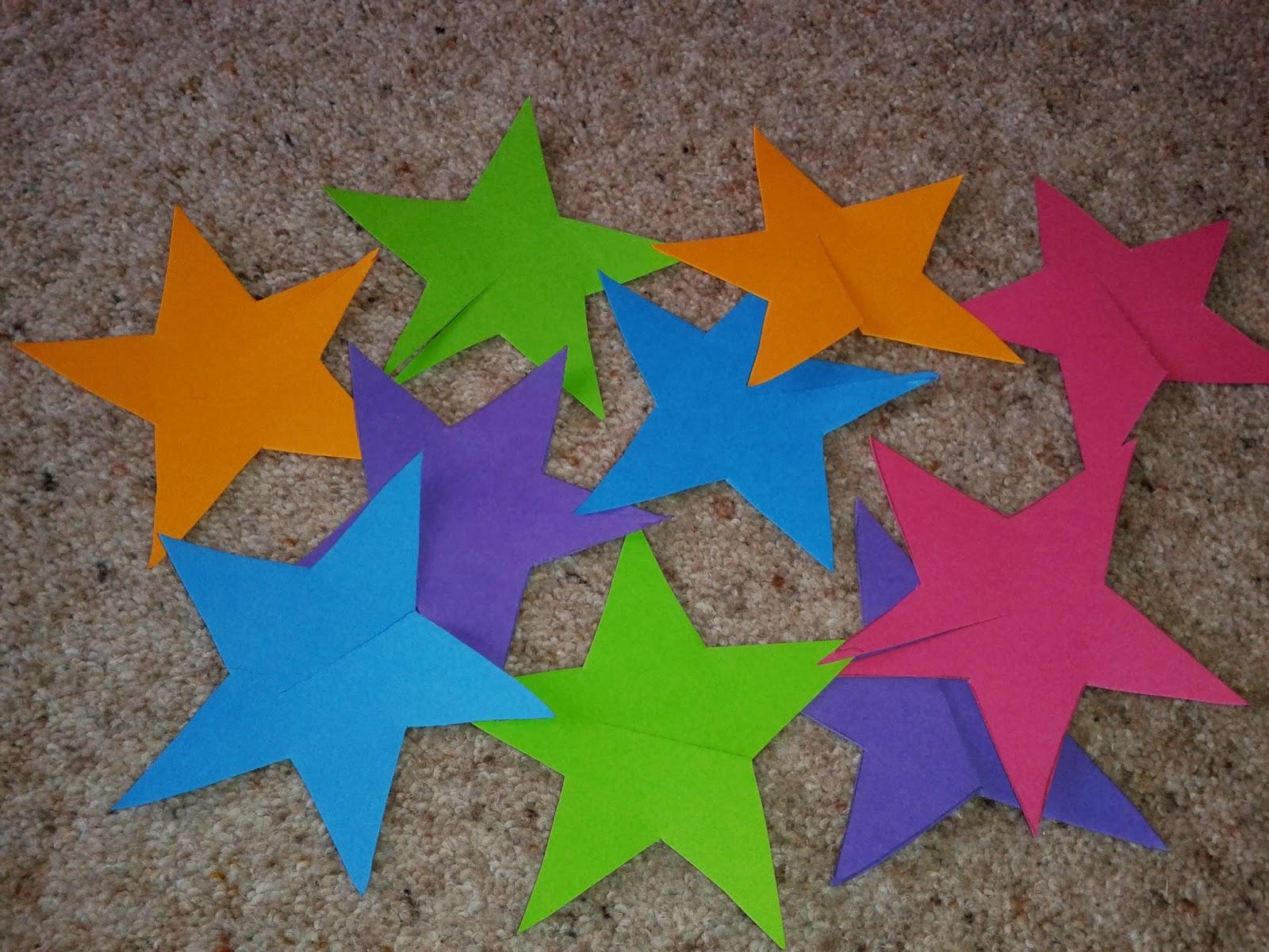 Flame: Creative Children's Ministry: Nativity Star Craft