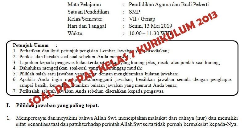 Kunci Jawaban Pendidikan Agama Islam Kelas 12 Key