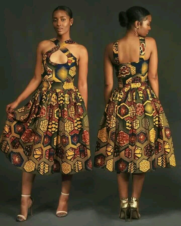 Fabulous Short Gown Ankara Styles 2018 Download Latest