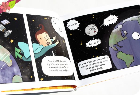 Les découvertes de Super Mi : En route pour l'espace de Cee Cee Mia et Julie Lecomte - Samir Éditeur