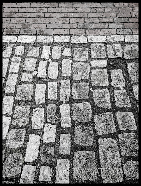 Bricks and Stones on Freedom Trail in Boston - June 2017.