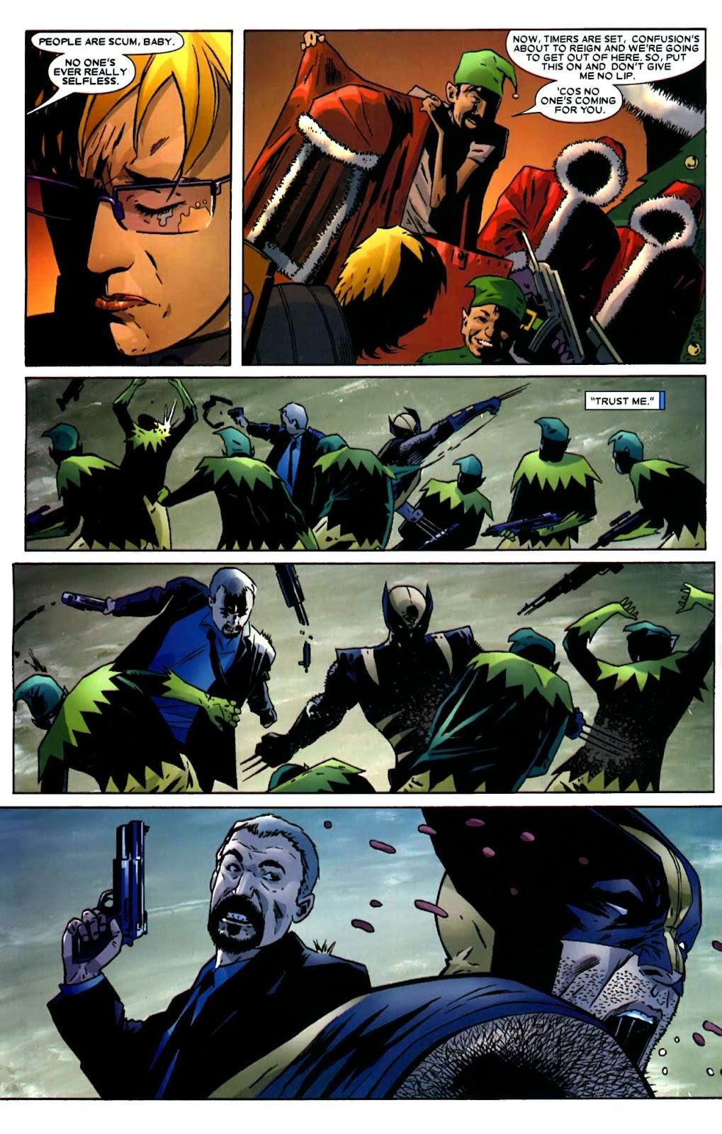 Read online Wolverine (2003) comic -  Issue #49 - 22