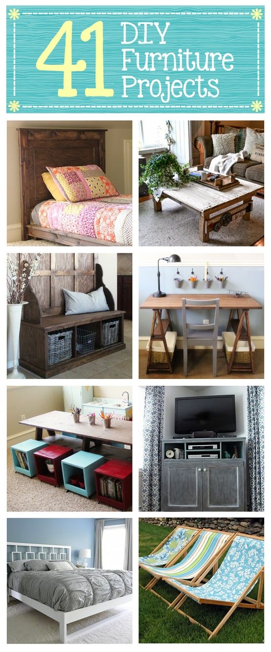 DIY Furniture Projects, curated by Shanty 2 Chic, from HomeTalk, featured on Funky Junk Interiors