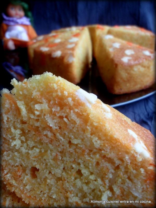 Cake Carotte Sal Ef Bf Bd Huile De Coco