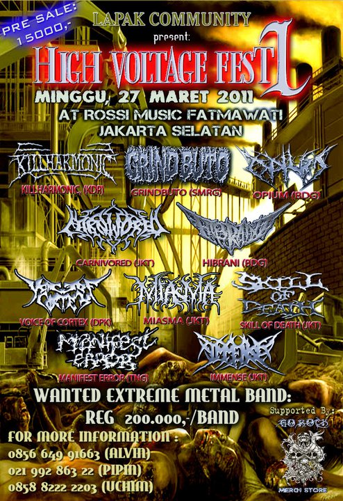 High Voltage Fest #1 - Lapak Community