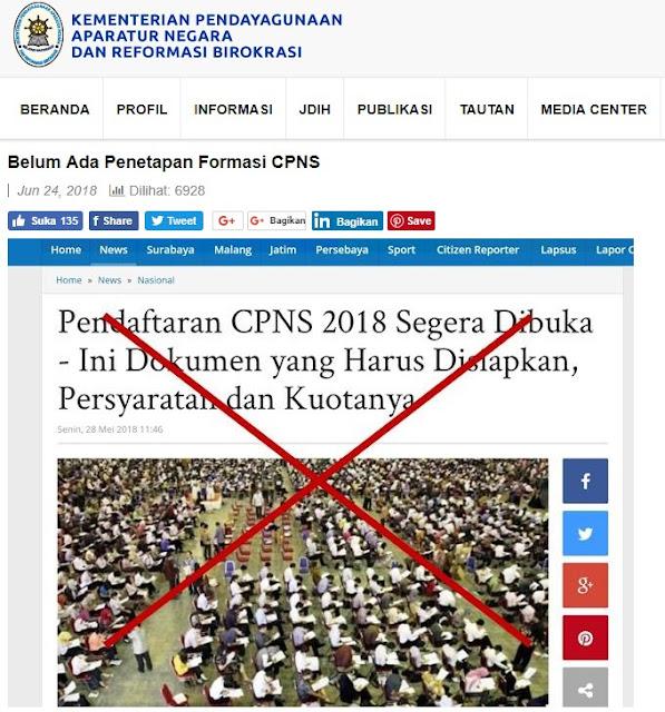 penerimaan CPNS tahun 2018
