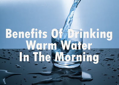 Regularly drinking warm water in the morning