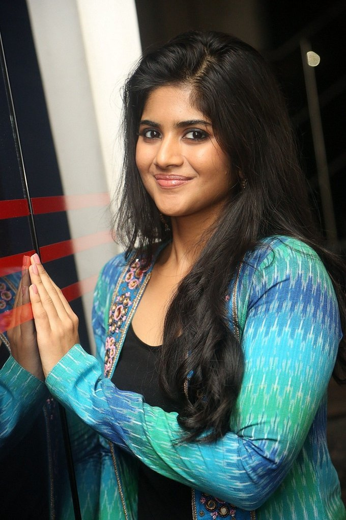 Actress Megha Akash Stills at LIE Movie Success Meet