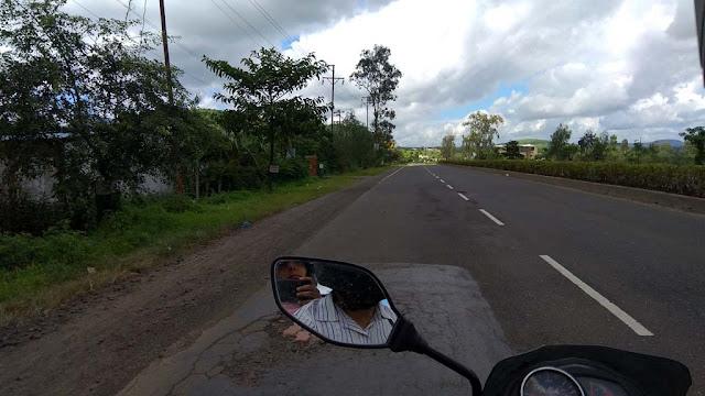 Nasik to Triambakeshwar Road