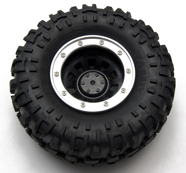 Tamiya CR-01 Toyota Land Cruiser wheel tire