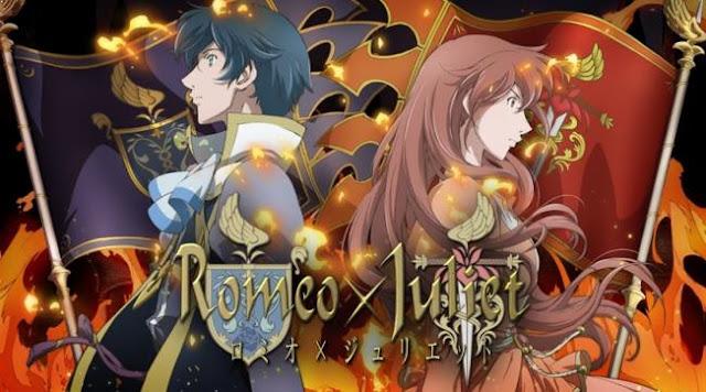 Daftar Rekomendasi Anime Fantasy Romance Terbaik - Romeo X Juliet