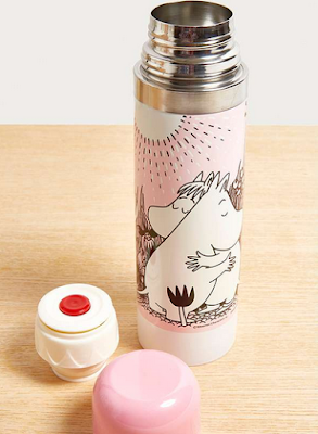 Thermos rose Moomin