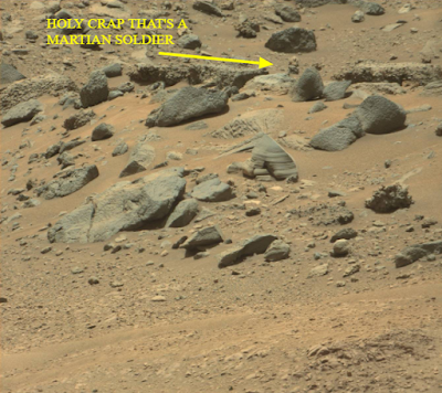 That is a Martian and time itself will prove that this is a real Alien, I'm sure of that.
