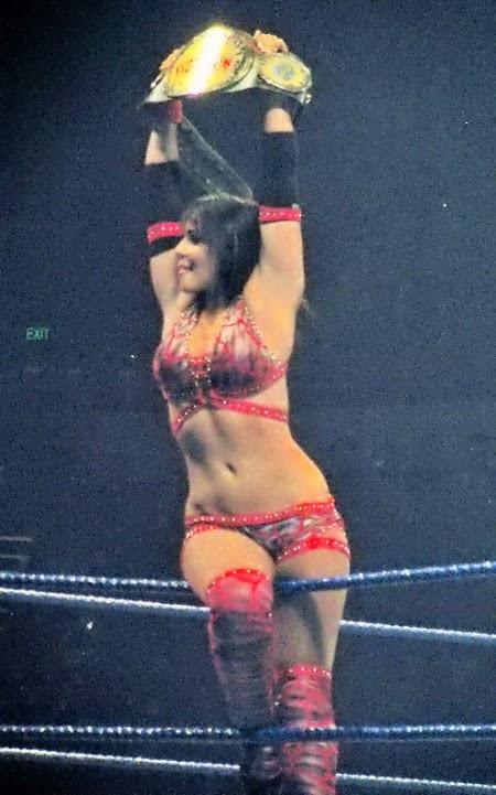 WWE Champion Layla