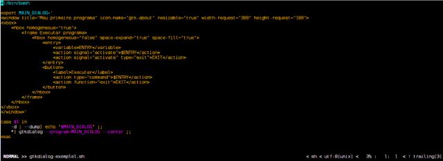 Criando aplicações gráficas com ShellScript e GtkDialog