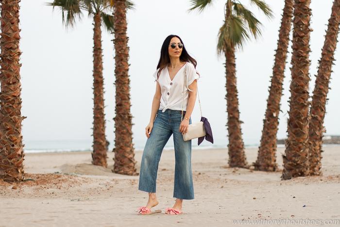Blogger influencer Valencia playa Canet ideas vestir comoda natural moda hecha en españa
