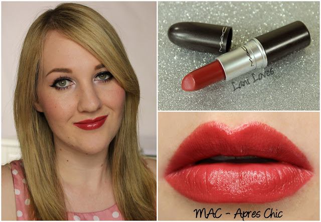 MAC Apres Chic lipstick swatch