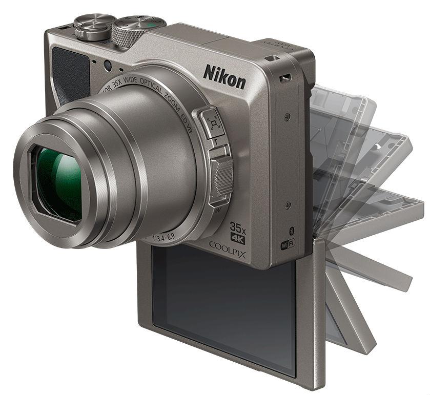 Nikon Coolpix A1000 с откидным экраном