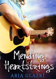 Cover for Mending Heartstrings by Aria Glazki