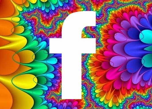 Colourful FB logo