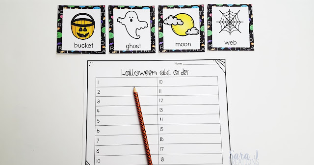 Grab your free Halloween themed read and write the room, ABC order and writing prompt paper to gear up your classroom for Halloween.