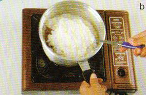 langkah memasak bubur kepiting