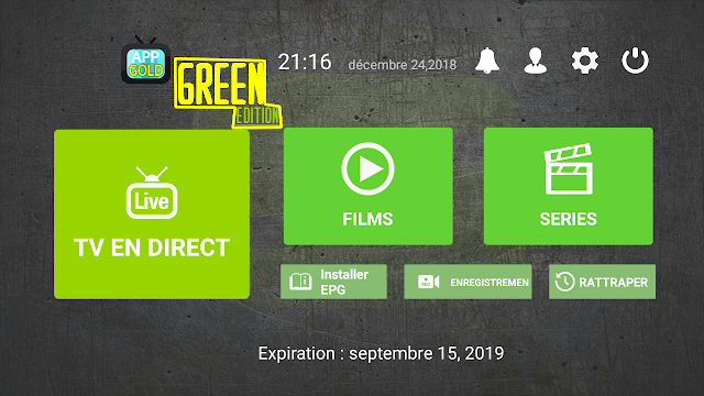 ITS NEW AMAZING PREMUIM IPTV APK : BEST CHANNELS SPORT/ MOVIES/ SERIES 2019