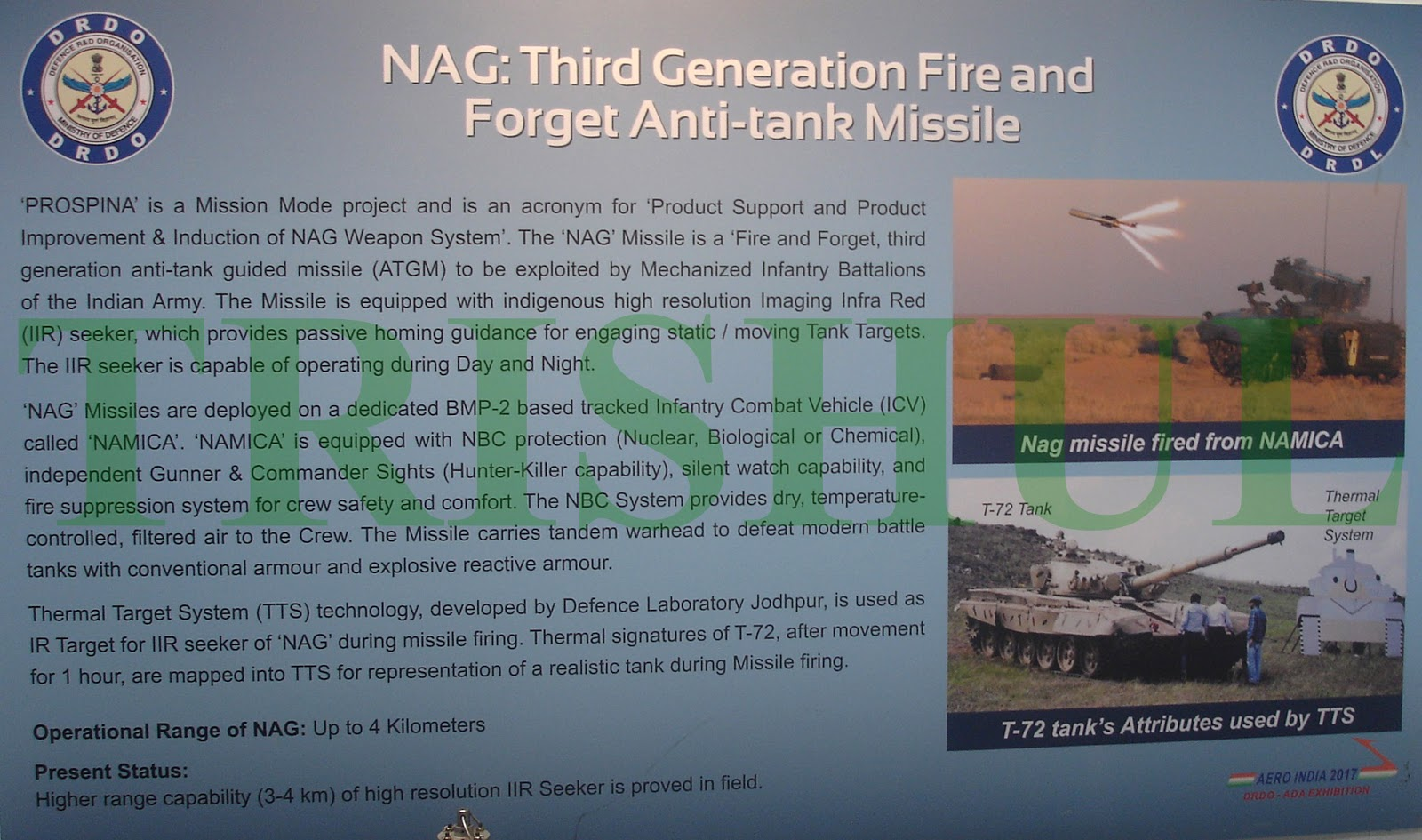 TRISHUL: Will Nag/NAMICA-2 Combination Enter Service?