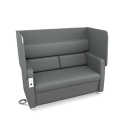 Privacy Chair with Power