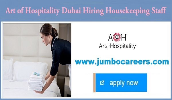 Current hotel jobs in Dubai, Available vacancies in UAE,
