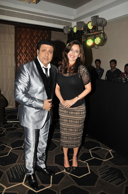 15. Govinda with Hrishitta Bhatt