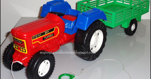 King´s Toys Tractor w/ Trailler