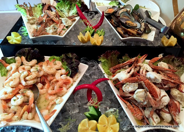 seafood at Channels Media Rotana