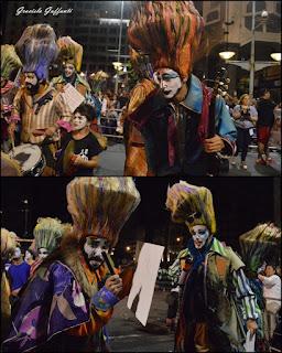 Desfile Inaugural del Carnaval. Uruguay. 2017 Murga La Mojigata