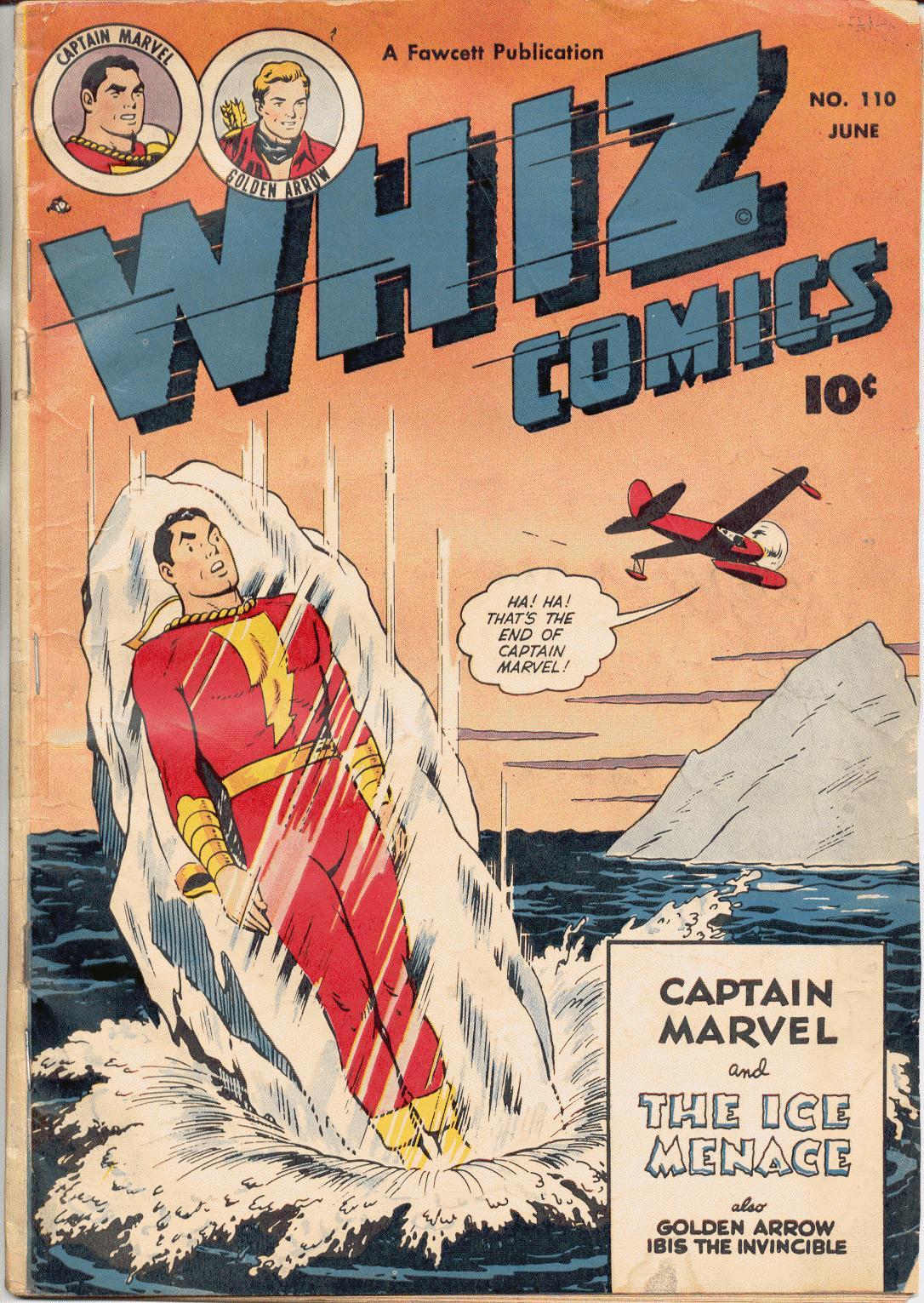 WHIZ Comics 110 Page 1
