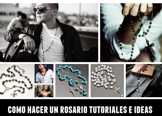 rosario, manualidades, rezar, oración, Dios, mágico