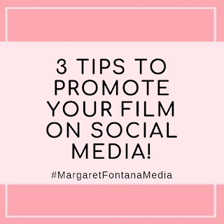 3 Tips To Promote Your Film 🎥 Using Social Media - New Podcast!