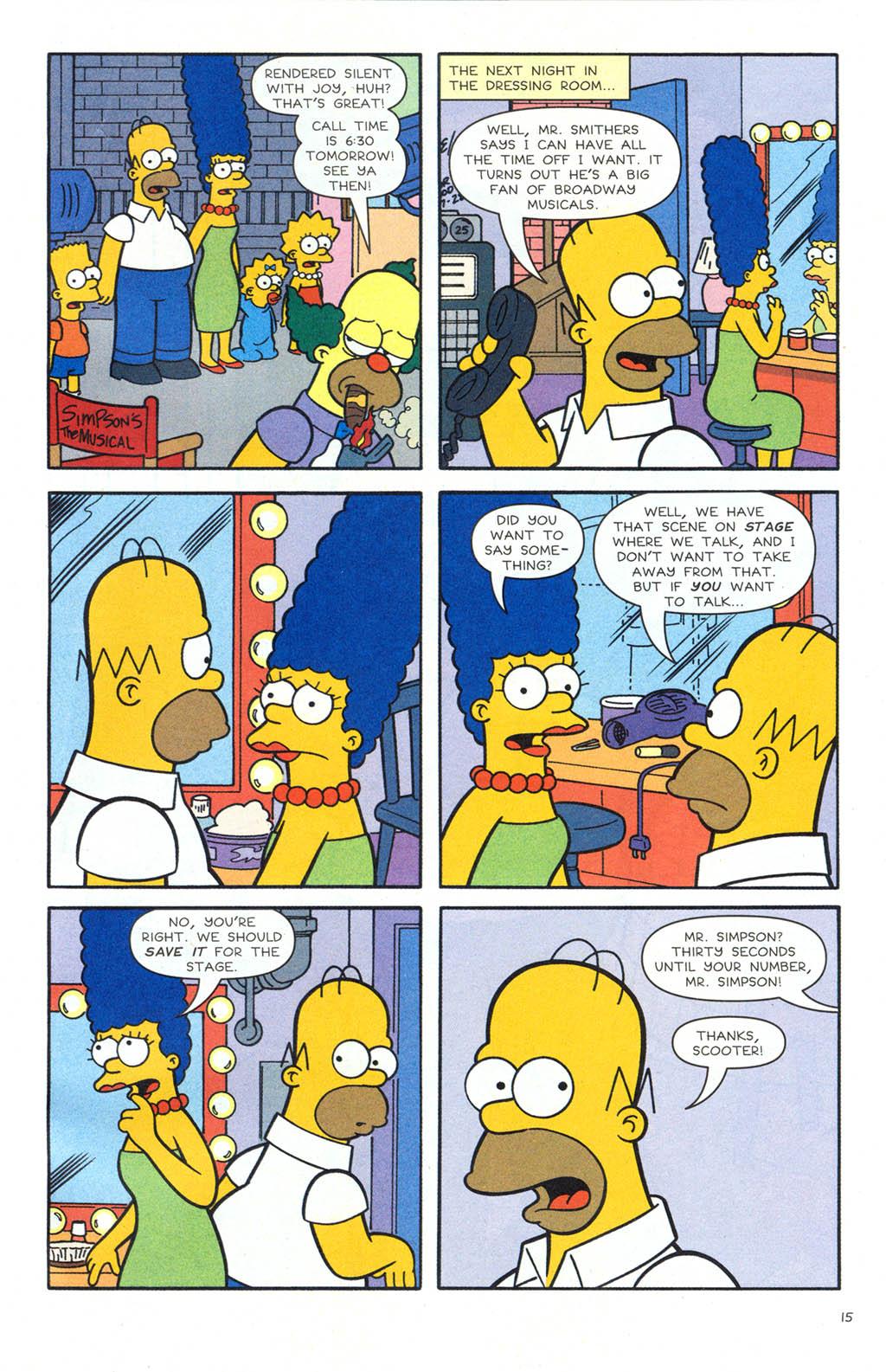 Read online Simpsons Comics comic -  Issue #106 - 16
