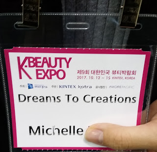 Michelle's pass to the event.