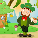 Play Games4King Cartoon Leprec…