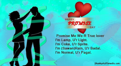 Promise day Romantic messages quotes