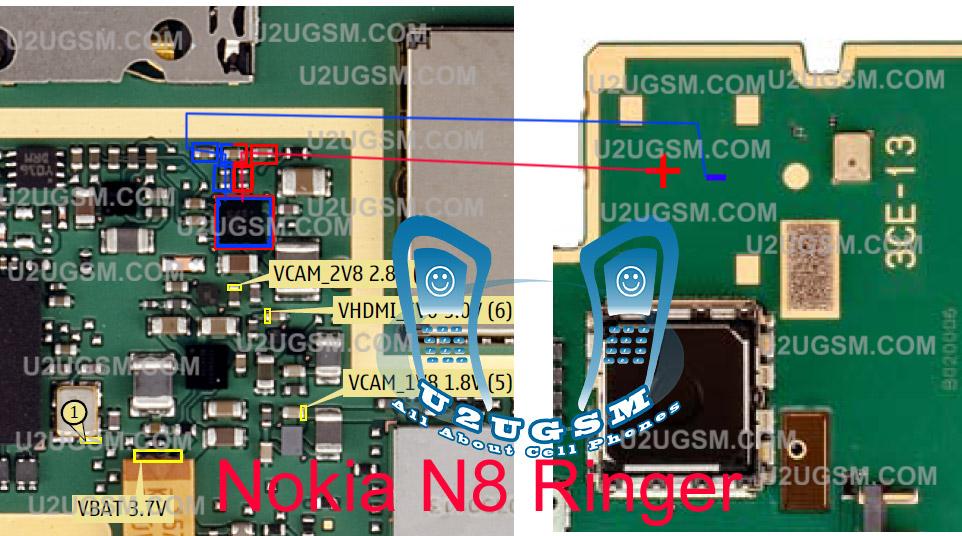 Nokia N8 Ringer Buzzer problem solution ways jumpers