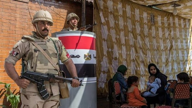 Egyptians vote on final day of 'unfree' referendum to extend President Abdul Fattah el-Sisi's rule until 2030