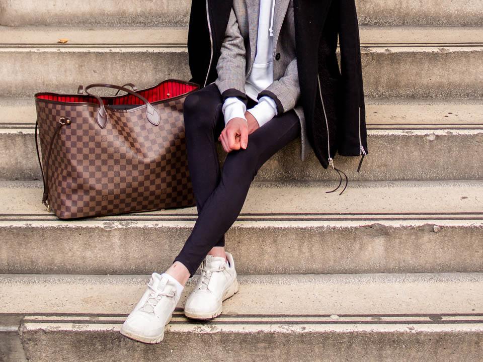 How to wear a hoodie with blazer - Kuinka pukea huppari bleiserin kanssa