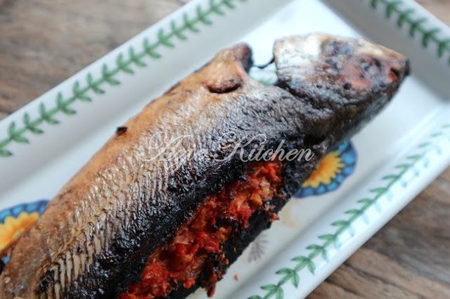 Ikan Cencaru Sumbat Sambal